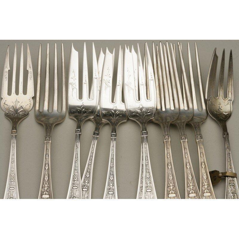 25 Assorted Sterling Forks - 2
