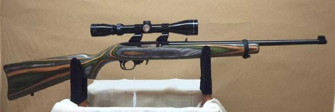 Ruger, Custom 10/22 with Scope and 4 mags - 3