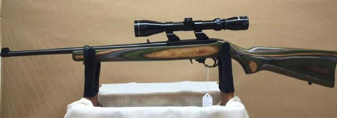Ruger, Custom 10/22 with Scope and 4 mags - 7