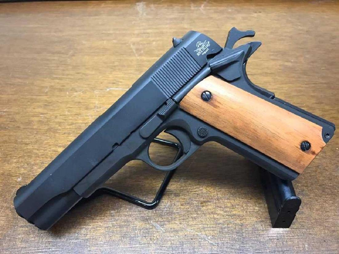Rock Island M1911 A1 9mm Semi Automatic with Skull