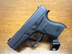 Glock 43 Black Talo UpGraded with Pro Glow Sights