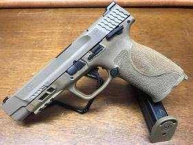 """Smith & Wesson M&P 9mm M2.0 Pistol Full Size FDE 5"""""""