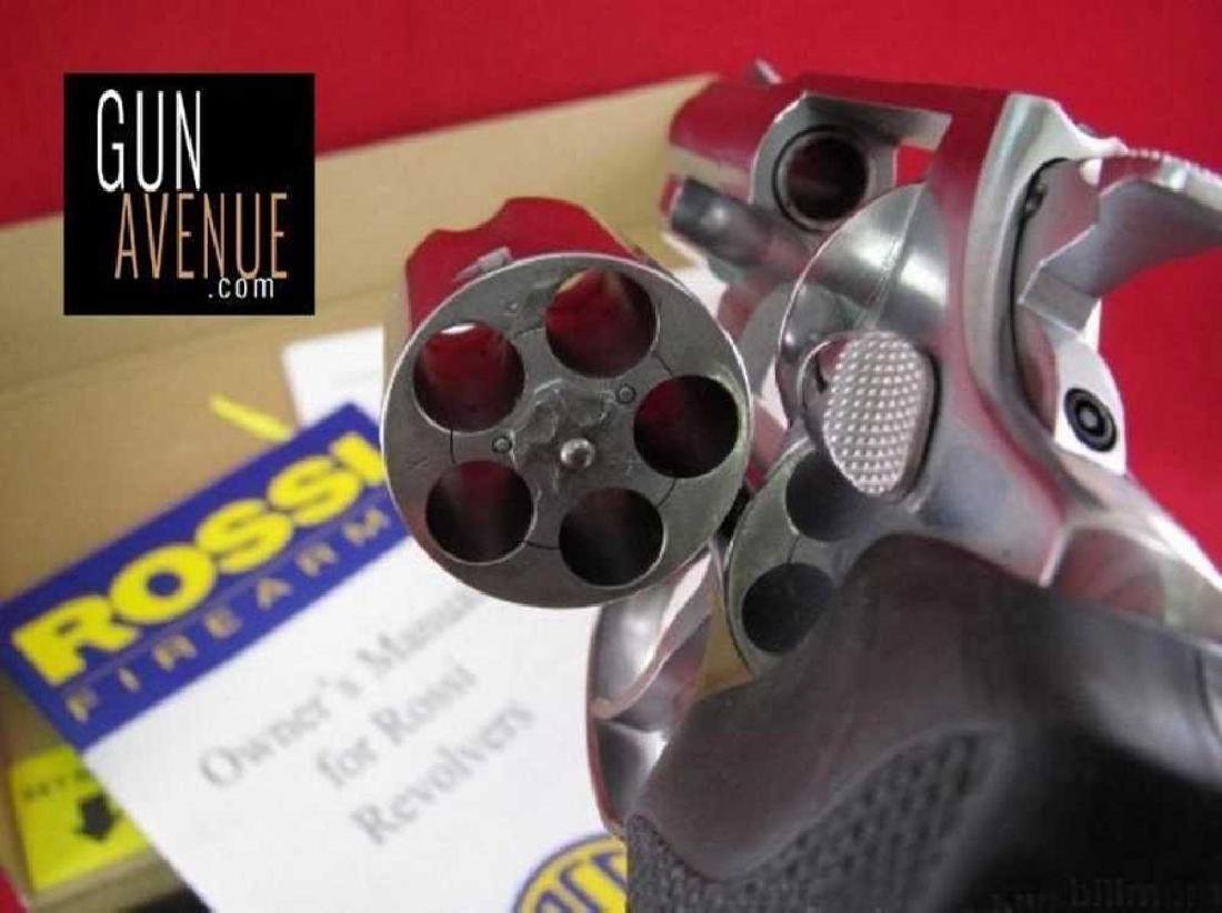 Rossi .38 Special 5 Round Stainless Steel Revolver - 2