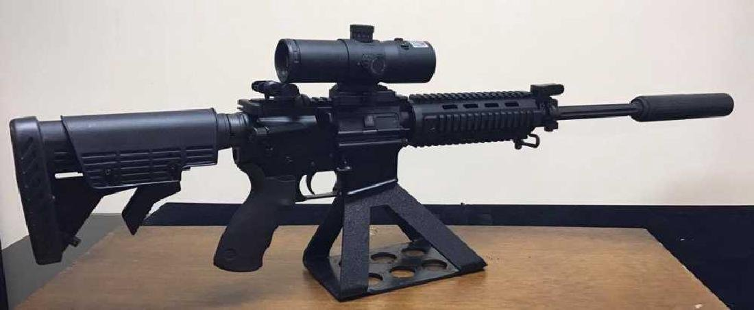 Bushmaster XM15 5.56 Fluted Barrel, Quad Rail Iron