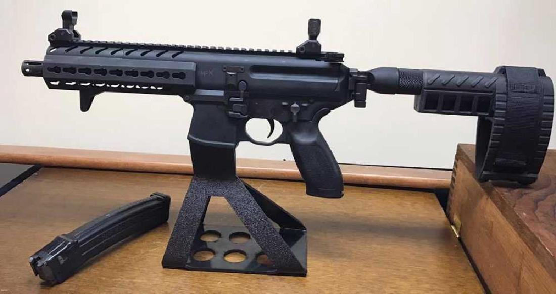 Sig Sauer MPX Pistol w/SBX Stabilzing brace 9mm  AR15