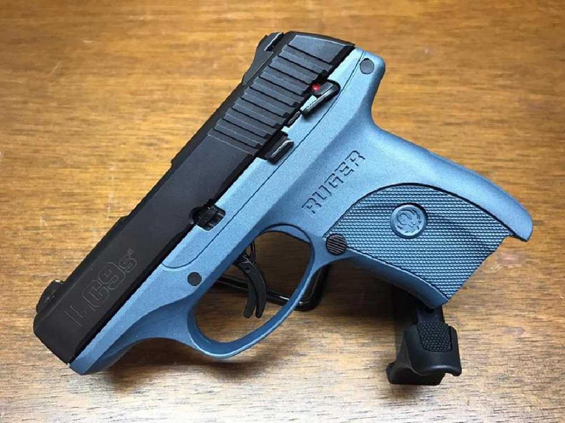 Ruger LC9S 9mm Blue Titanium with Safety