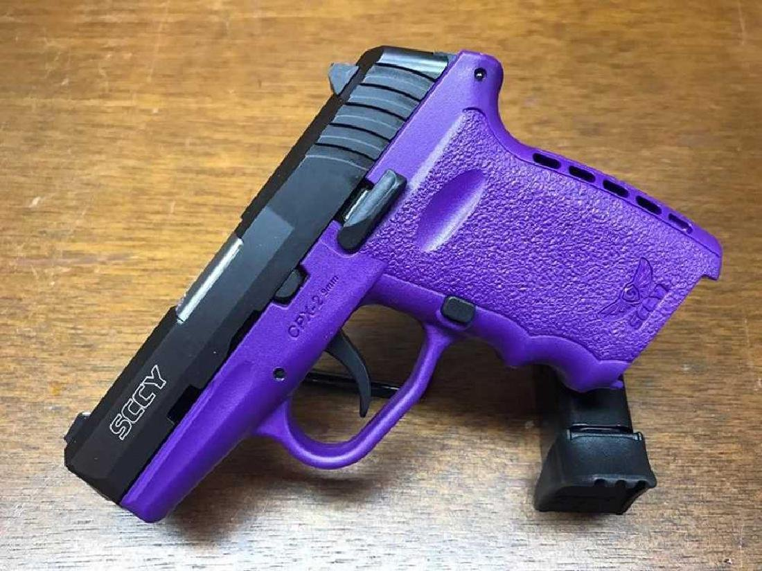 SCCY CPX-2 9mm Purple and Black 9mm with 2 Mags