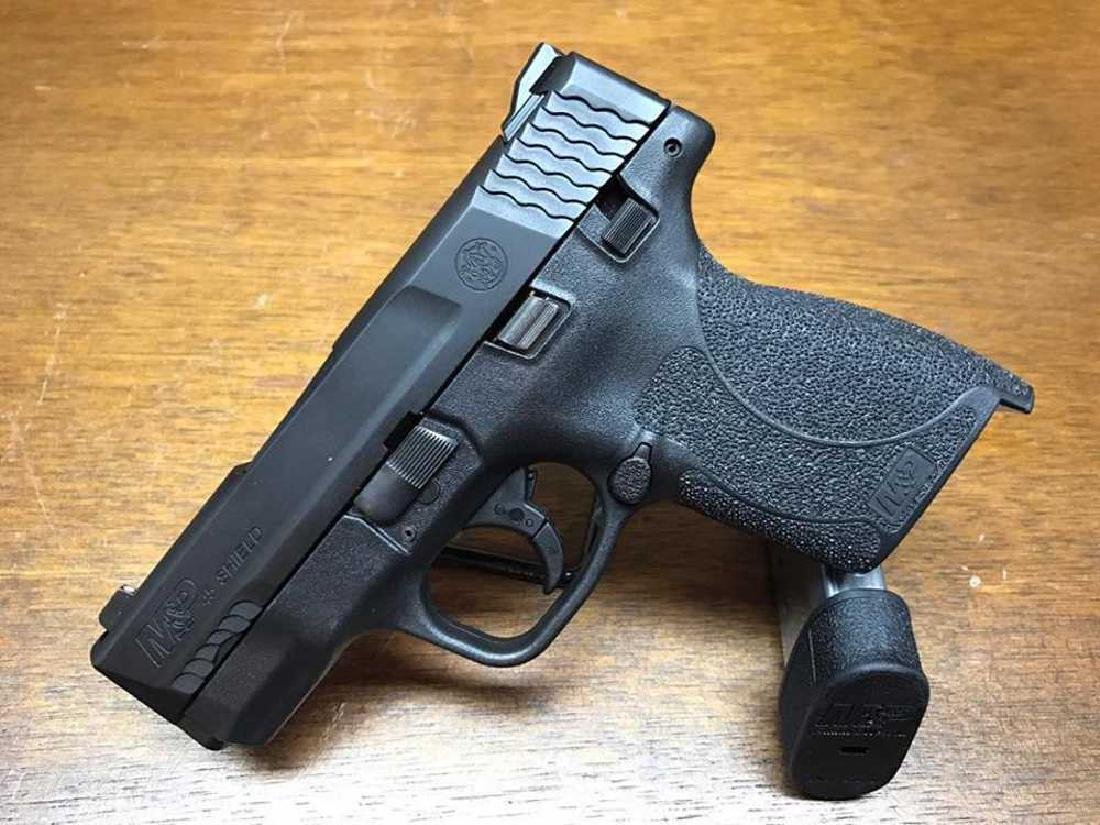 Smith &Wesson M&P Shield .45 acp with a Thumb Safety