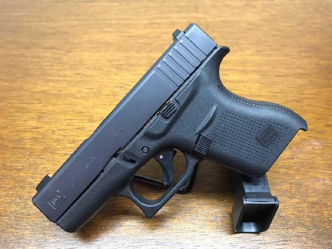 Glock 43 Black Talo UpGraded with Pro Glow Sights