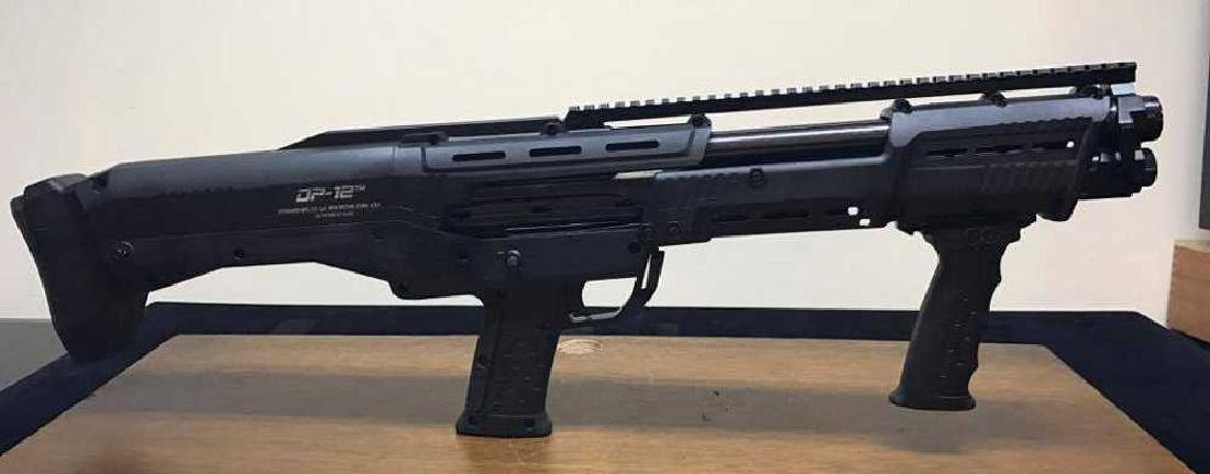 DP-12 16 Round 12 Ga. Double Barrel Pump Shotgun, Gun