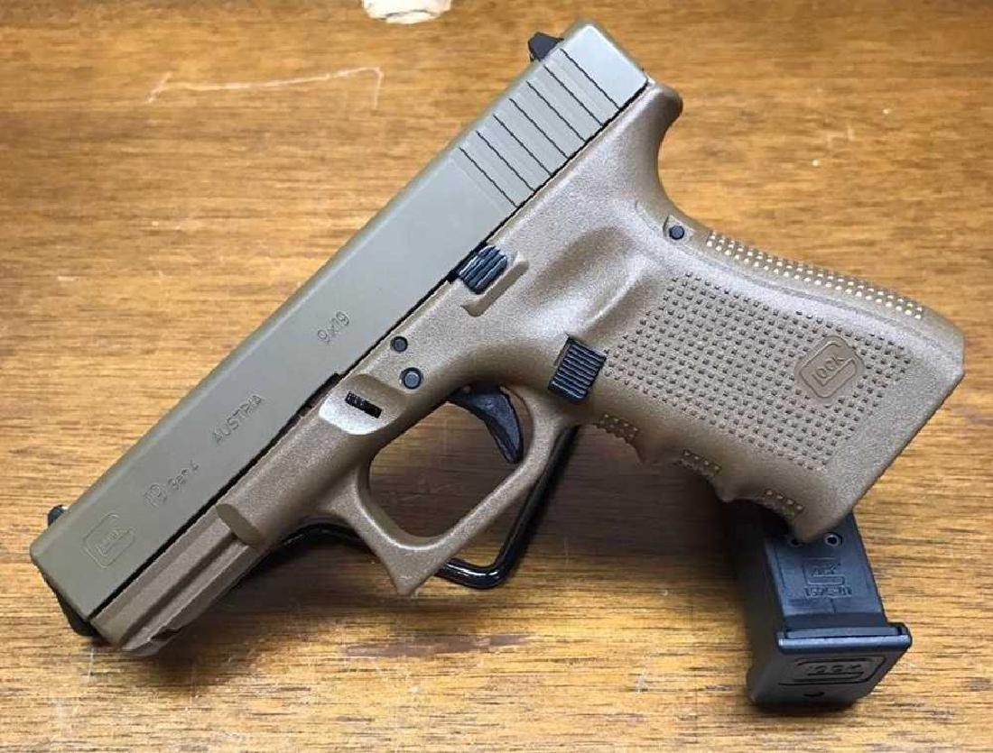 Glock 19 Full FDE Gen 4