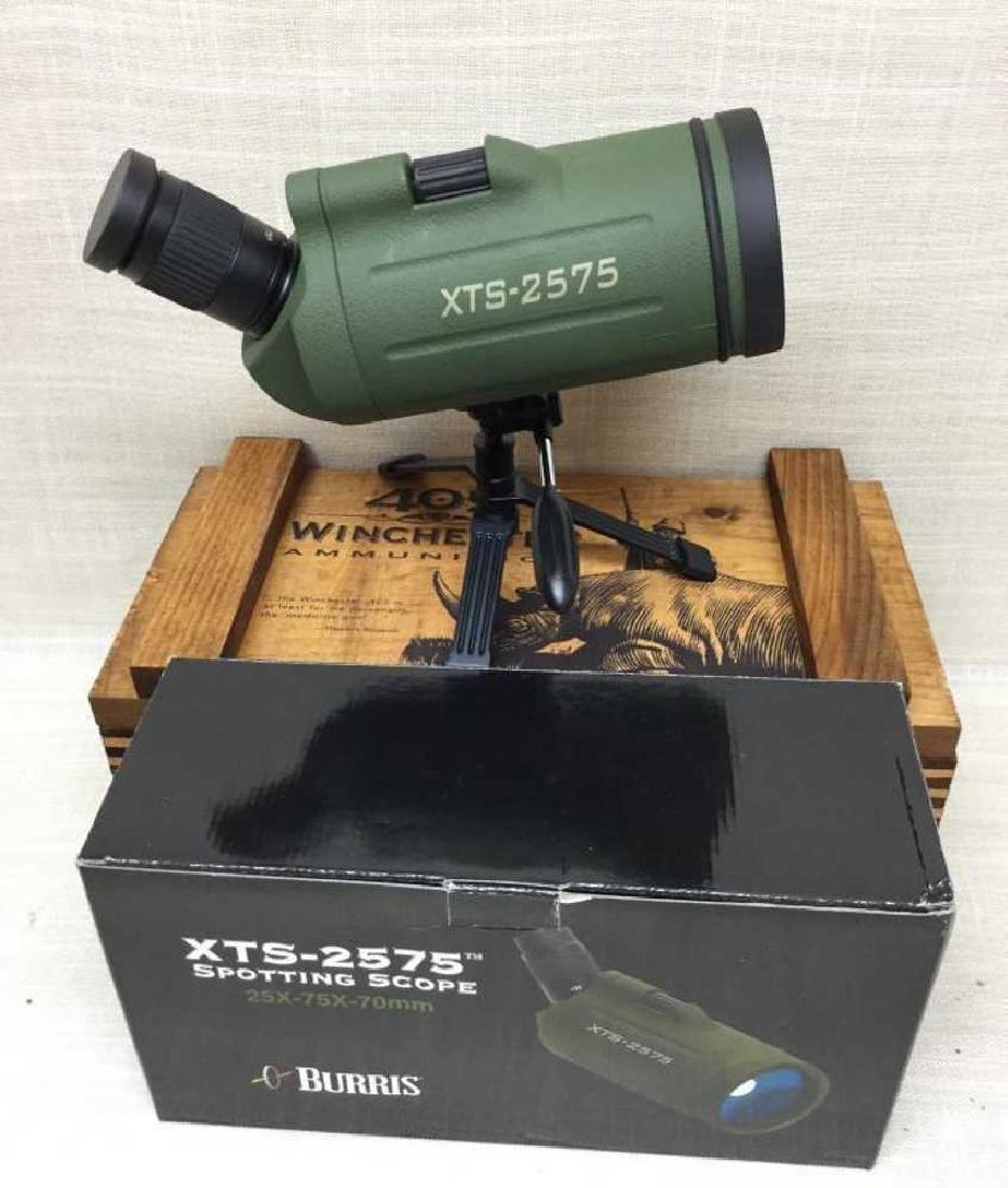 Burris Spotting Scope 25x 75 x 70mm with tri pod and