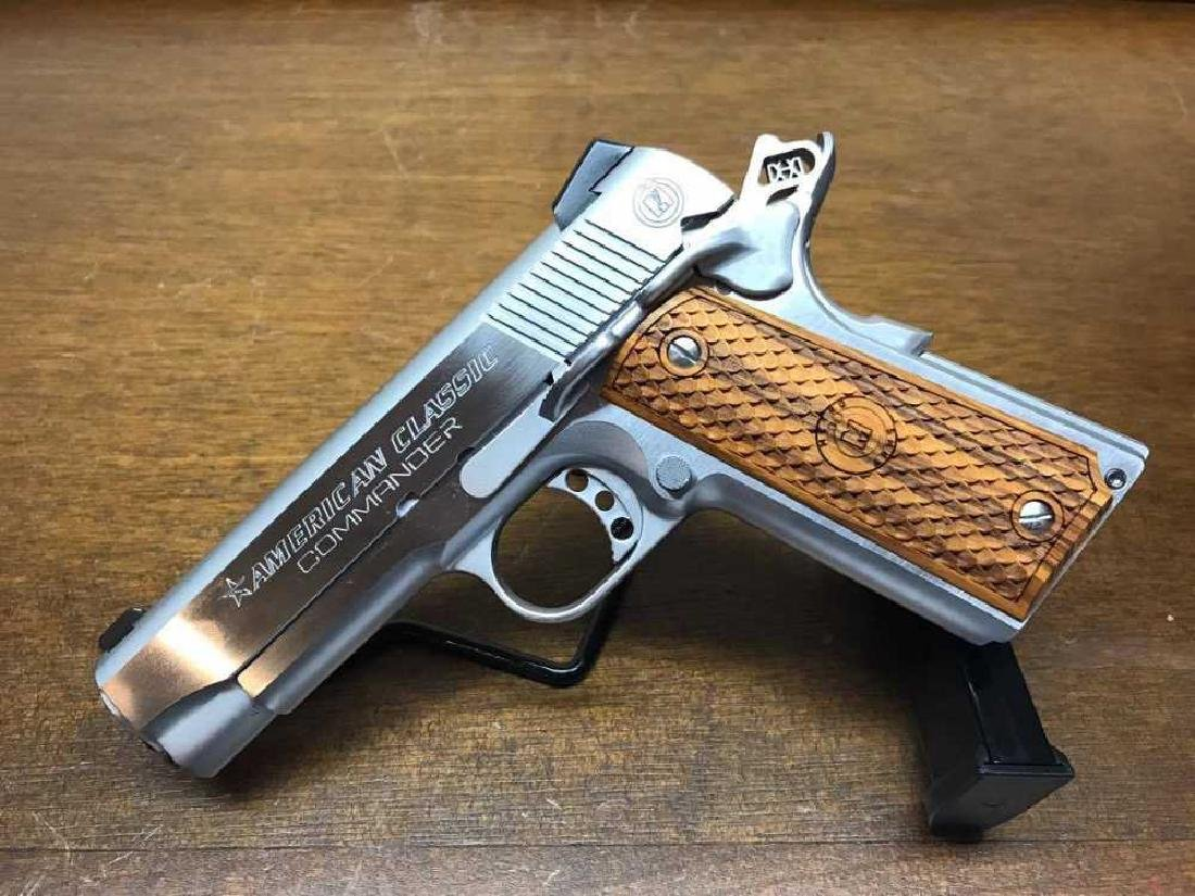 American Classic 1911 Commander .45 ACP Chrome with
