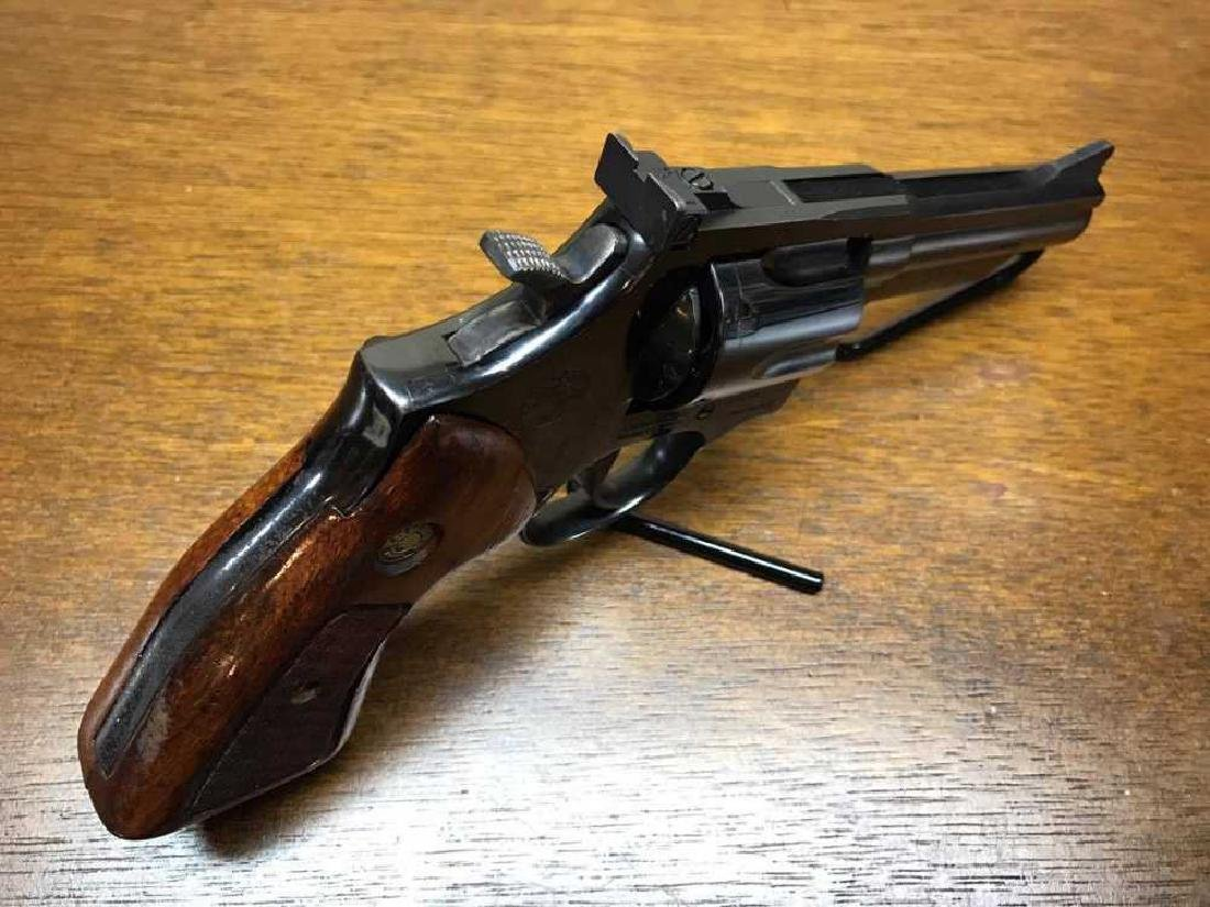 Taurus 66 Revolver with wood Grips .357 Magnum Pre - 3