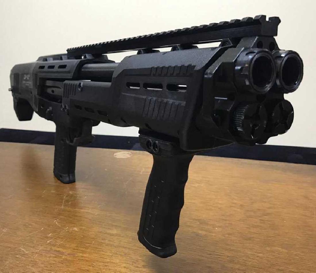 DP-12 16 Round 12 Ga. Double Barrel Pump Shotgun, Gun - 2