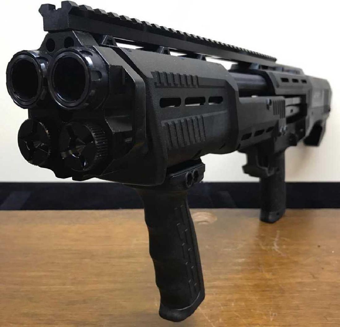 DP-12 16 Round 12 Ga. Double Barrel Pump Shotgun, Gun - 3