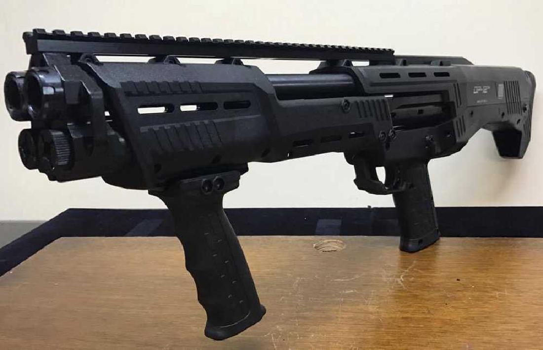 DP-12 16 Round 12 Ga. Double Barrel Pump Shotgun, Gun - 4