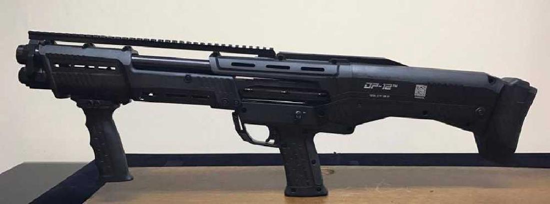 DP-12 16 Round 12 Ga. Double Barrel Pump Shotgun, Gun - 5