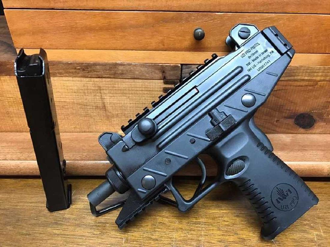 IWI - ISRAEL WEAPON INDUSTRIES UZI PRO PISTOL 9MM