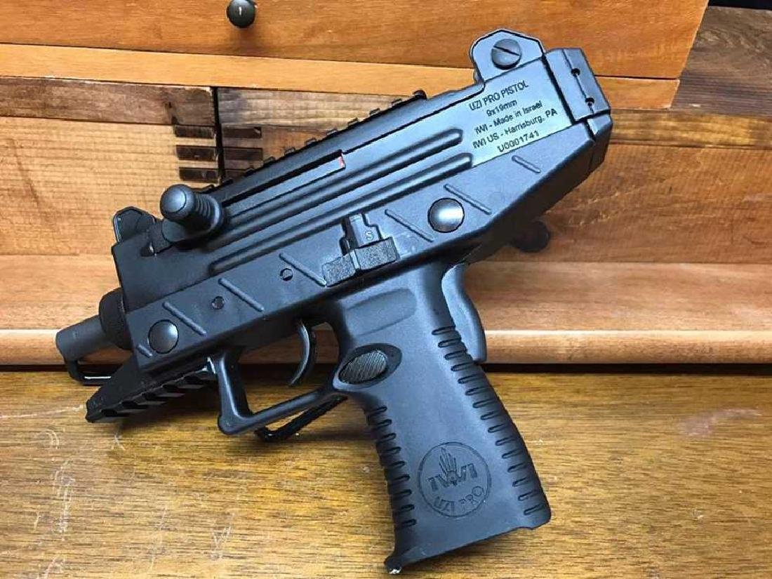 IWI - ISRAEL WEAPON INDUSTRIES UZI PRO PISTOL 9MM - 3