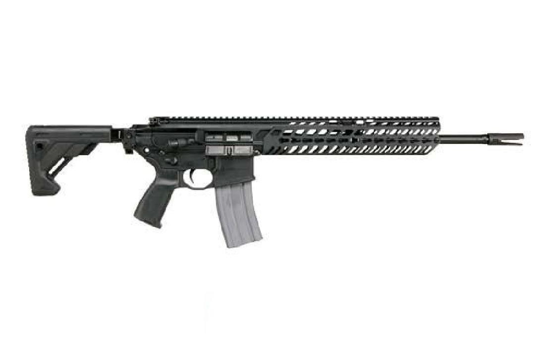 Sig Sauer Rifle: Semi-Auto MCX Series 300 AAC Blackout