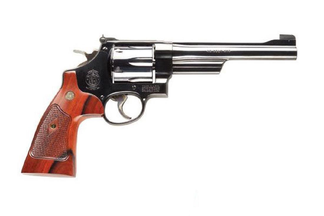 Smith & Wesson Revolver: Double Action 25 Series 45LC