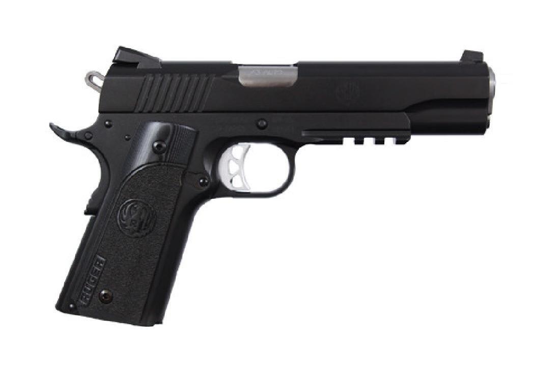 Ruger Pistol: Semi-Auto SR1911 Series 45AP Caliber