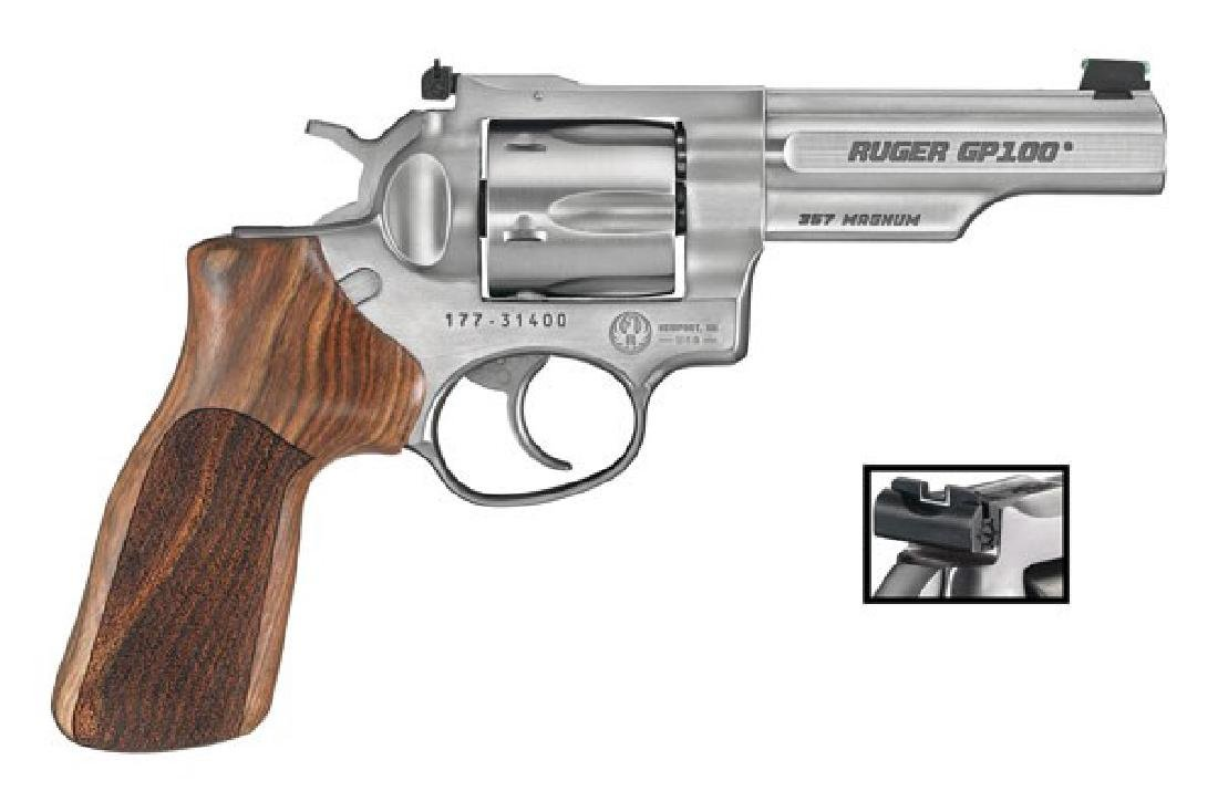Ruger Revolver: Double Action GP100 Series 357 Caliber