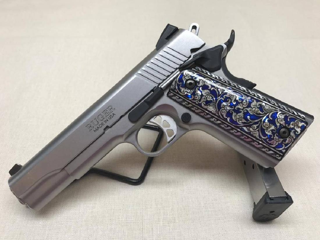 Ruger SR 1911 Stainless .45 ACP Pre-Owned in Excellent