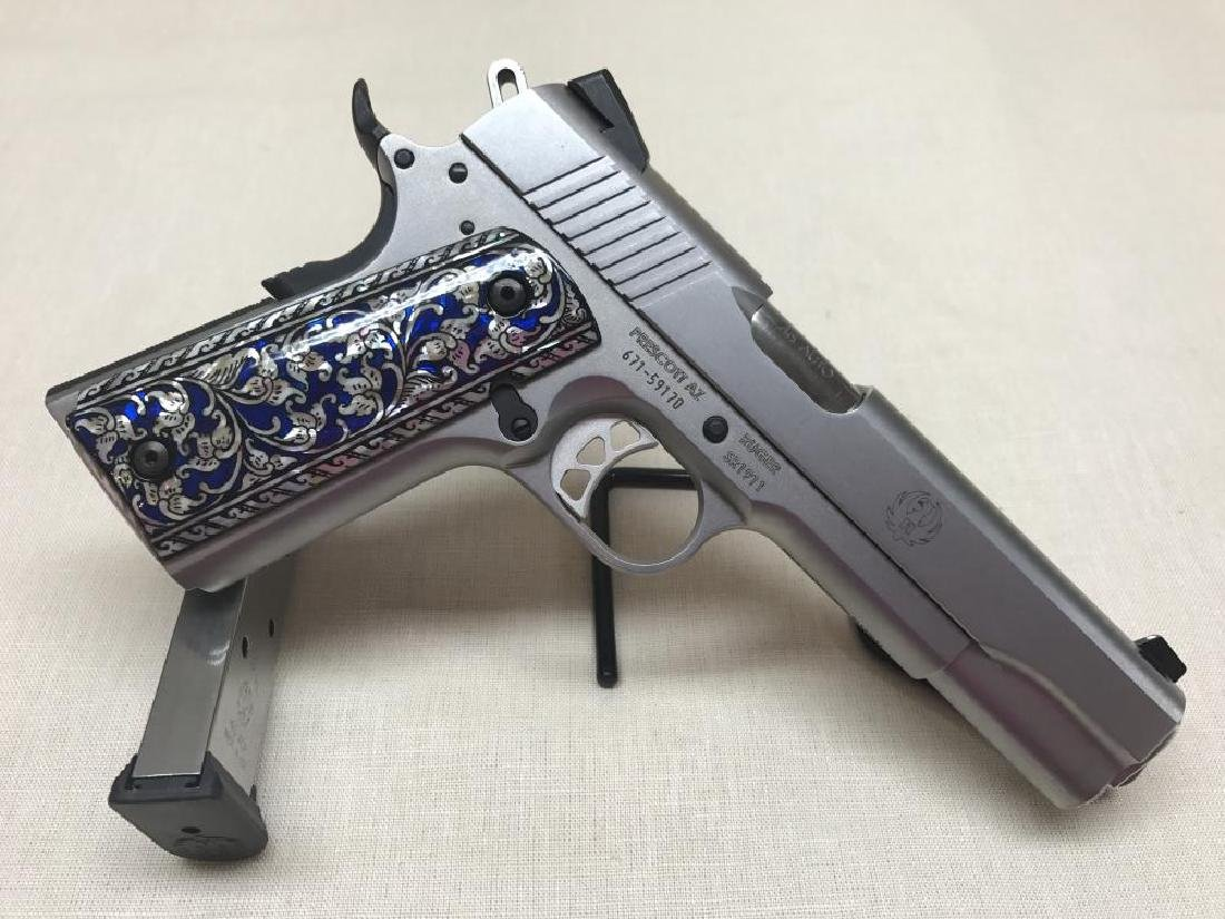 Ruger SR 1911 Stainless .45 ACP Pre-Owned in Excellent - 2