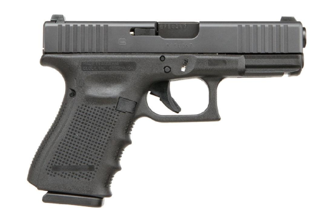 Glock Pistol: Semi-Auto 19 Series 9MM Caliber Safe
