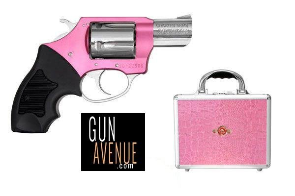 Charter Arms Revolver: Double ActionChic Lady|Pink