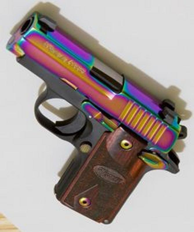 Sig Sauer P238 Rainbow chambered in .380 acp - 2