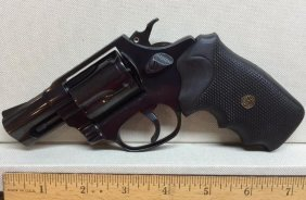 .38 Special 5-shot Revolver Black By Rossi