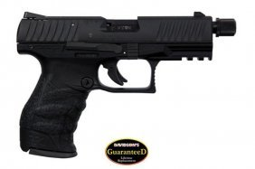 Walther Arms Ppq M2 Tactical .22lr With Threaded Barrel