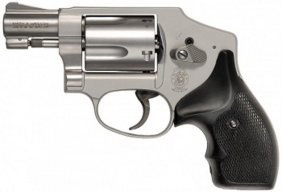 Smith & Wesson.38 Special + P Stainless Steel With