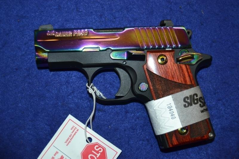 Sig Sauer P238 Rainbow chambered in .380 acp - 5