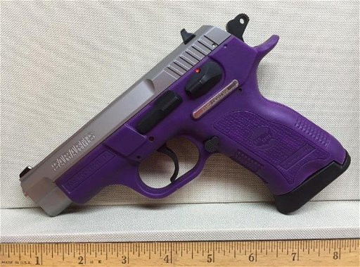 EAA SAR 9mm VIOLET PURPLE Semi-Automatic Double Action - Jul