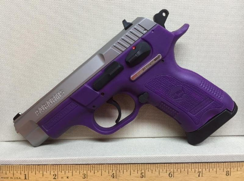 EAA SAR 9mm VIOLET PURPLE Semi-Automatic Double Action - Jul 30