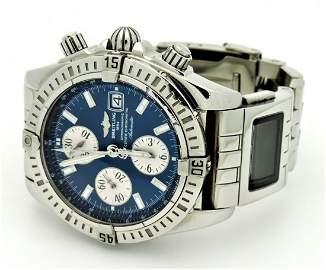 Breitling Evolution Stainless Steel Watch Digital