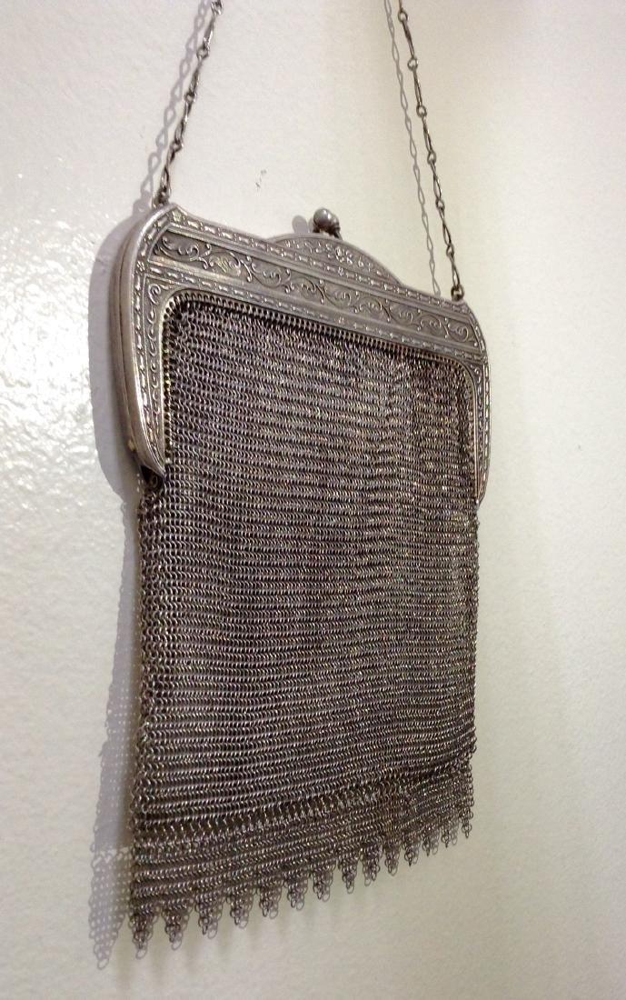 Vintage Whiting and Davis Mesh Handbag