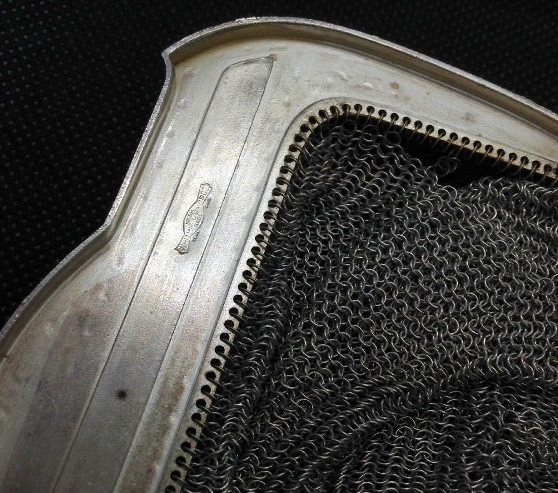 Vintage Whiting and Davis Mesh Handbag - 4