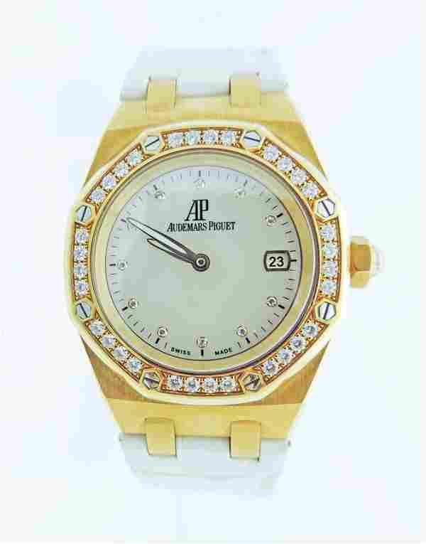 Audemars Piguet Royal Oak Lady 18k gold Quartz