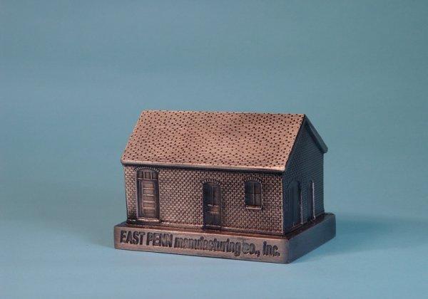 "22: ""East Penn Manufacturing Co.""  White Metal bank"
