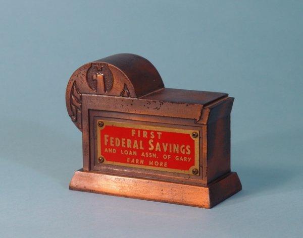 "461: ""First Federal Savings & Loan of Gary"" bank"