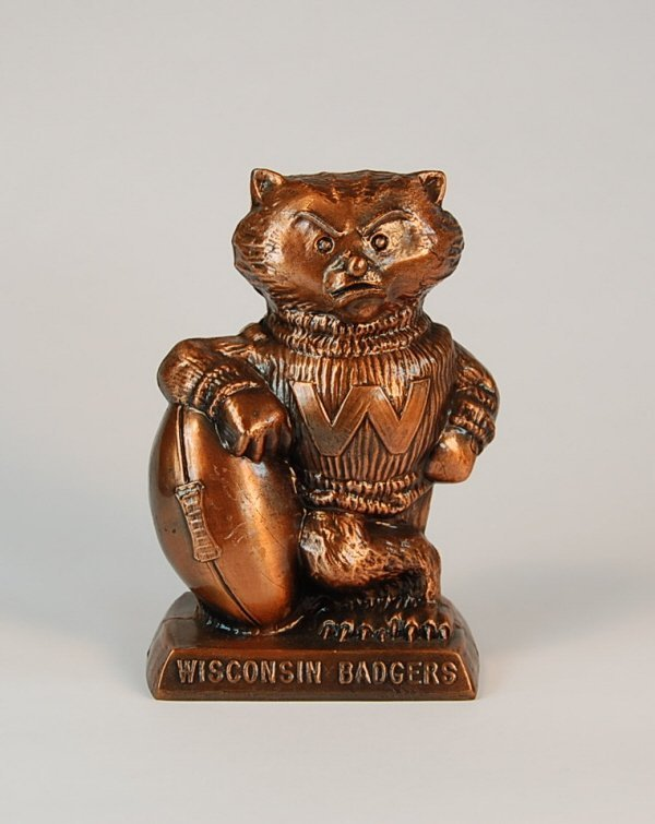 "3: ""Wisconsin Badgers"" Banthrico bank"