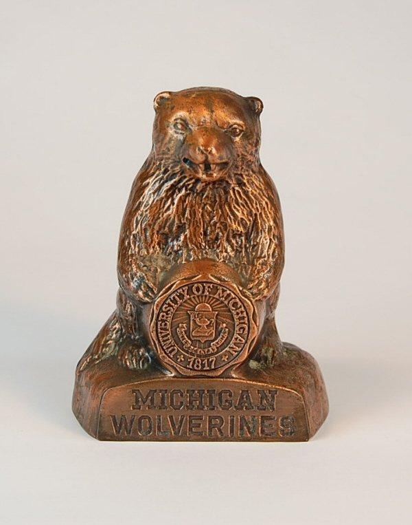 "5: ""Michigan Wolverines"" Banthrico bank"