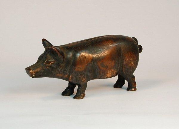 540: Bismark Pig Cast Iron bank