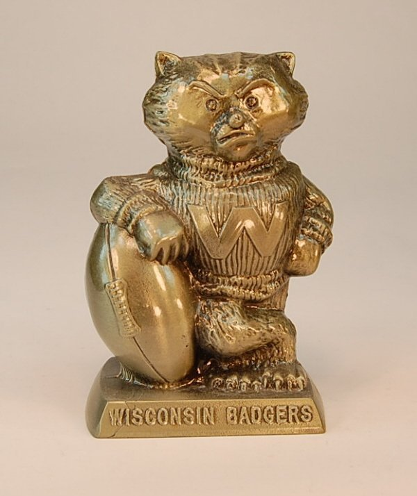 "5: Banthrico ""Wisconsin Badgers"" Badger bank"