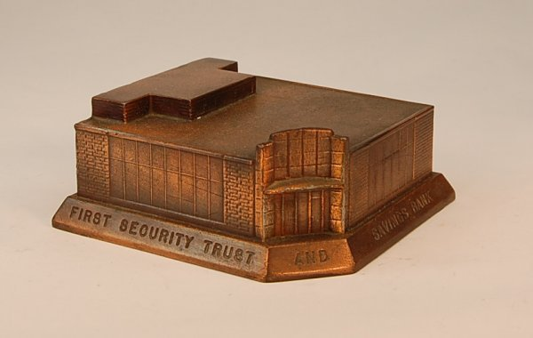 """21: Banthrico """"First Security Trust"""" bank"""